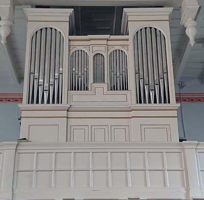 Organy w kościele ewangelickim w Kudowie-Pstrążnej